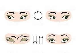 Gözler Için Önleme Ve Iyileştirme Egzersizleri Ayarlayın Stok Vektör Sanatı  & Anatomi'nin Daha Fazla Görseli - iStock
